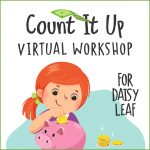 Girl Scout Count It Up Daisy Leaf Workshop