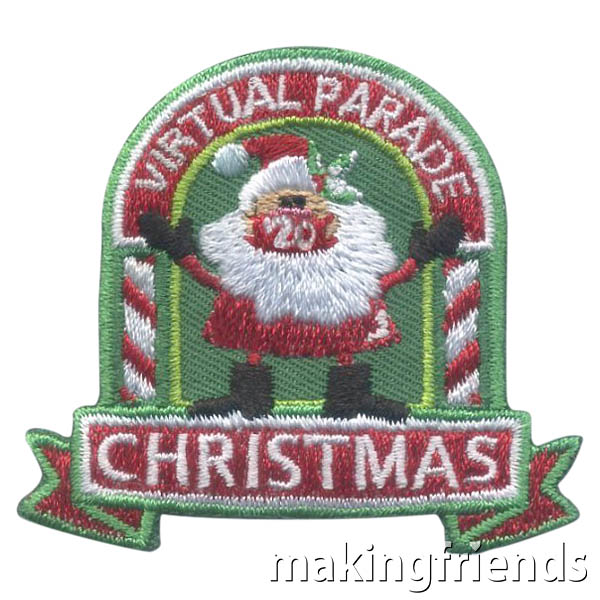 Virtual Christmas Parade 2020 Patch — Clearance via @gsleader411