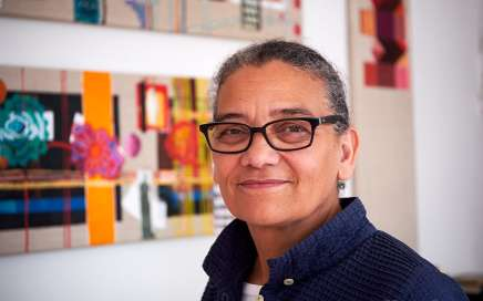 Lubaina Himid wins Turner Prize 2017 [photo: Denise Swanson]
