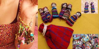 Munecas Quitapenas : Dolls that remove worries for friends