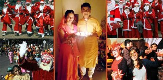 why indian celebrating christmas making india