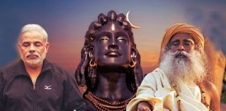 Adiyogi_modi sadguru 112 feet long statue making india ma jivan shaifaly