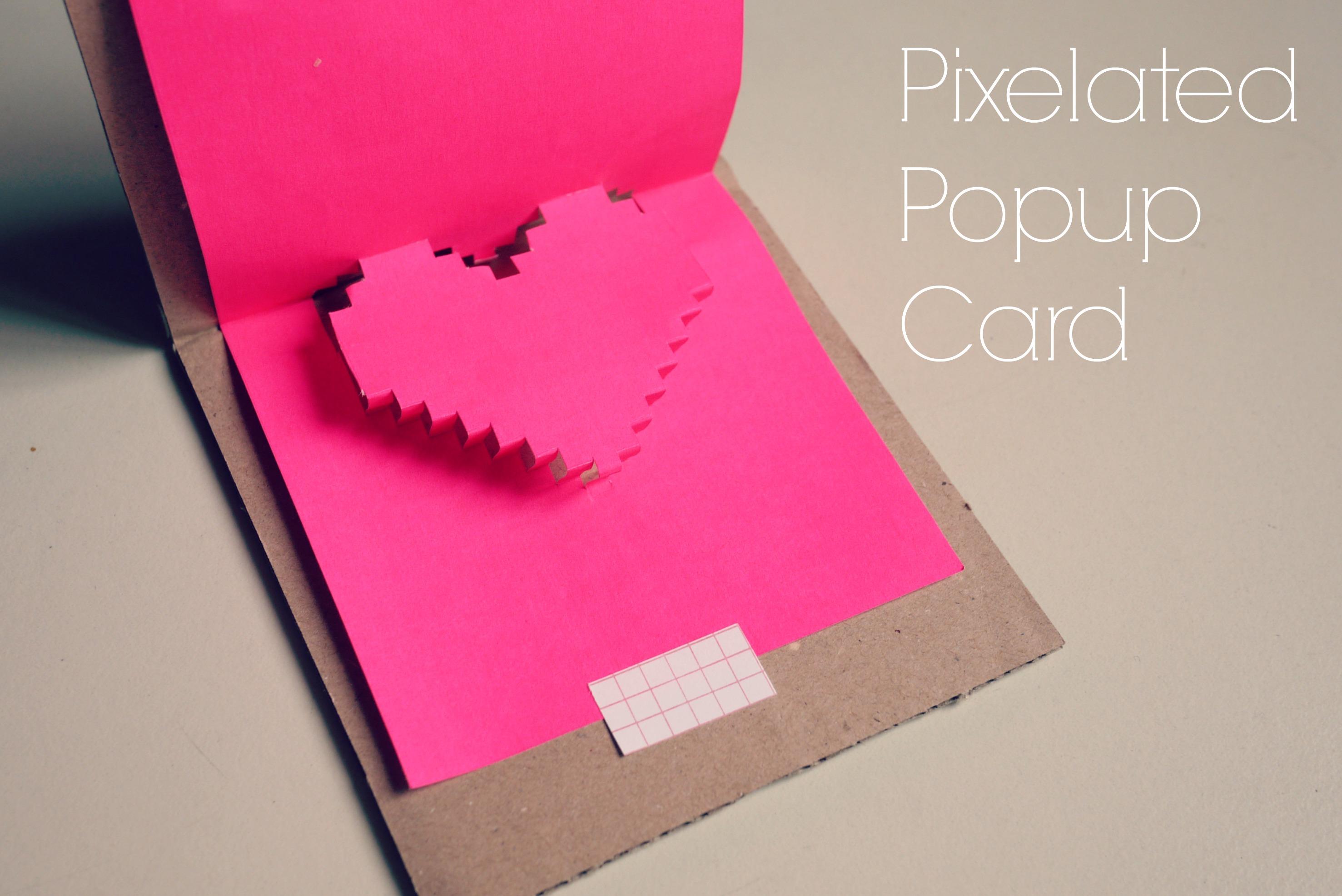 Heart Shape Popup Card MAKING IT BLISSFUL