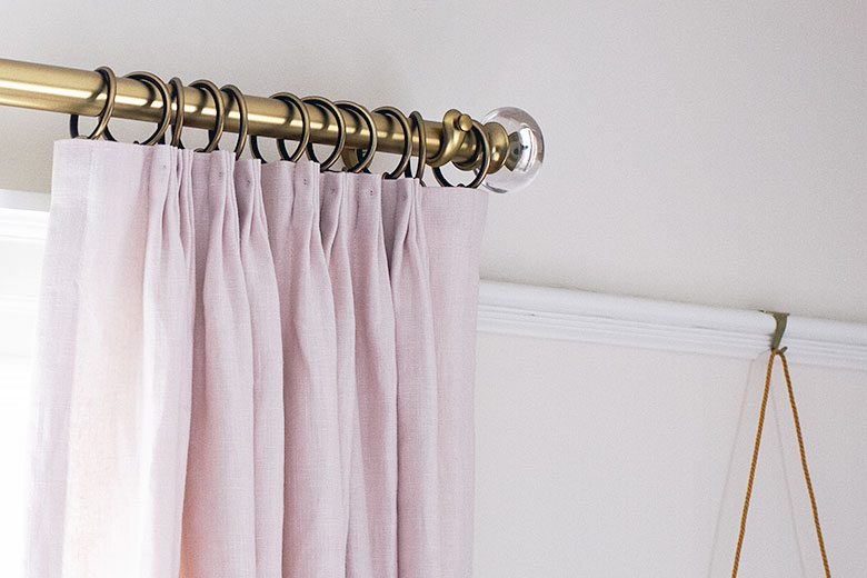 becket curtain rods making it lovely