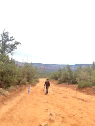 The part of the hike you can drive