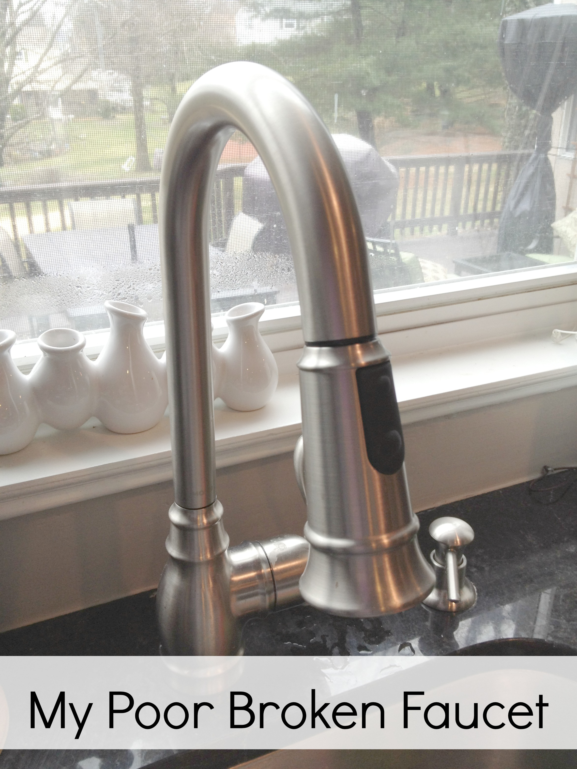fixing a faucet macgyver style