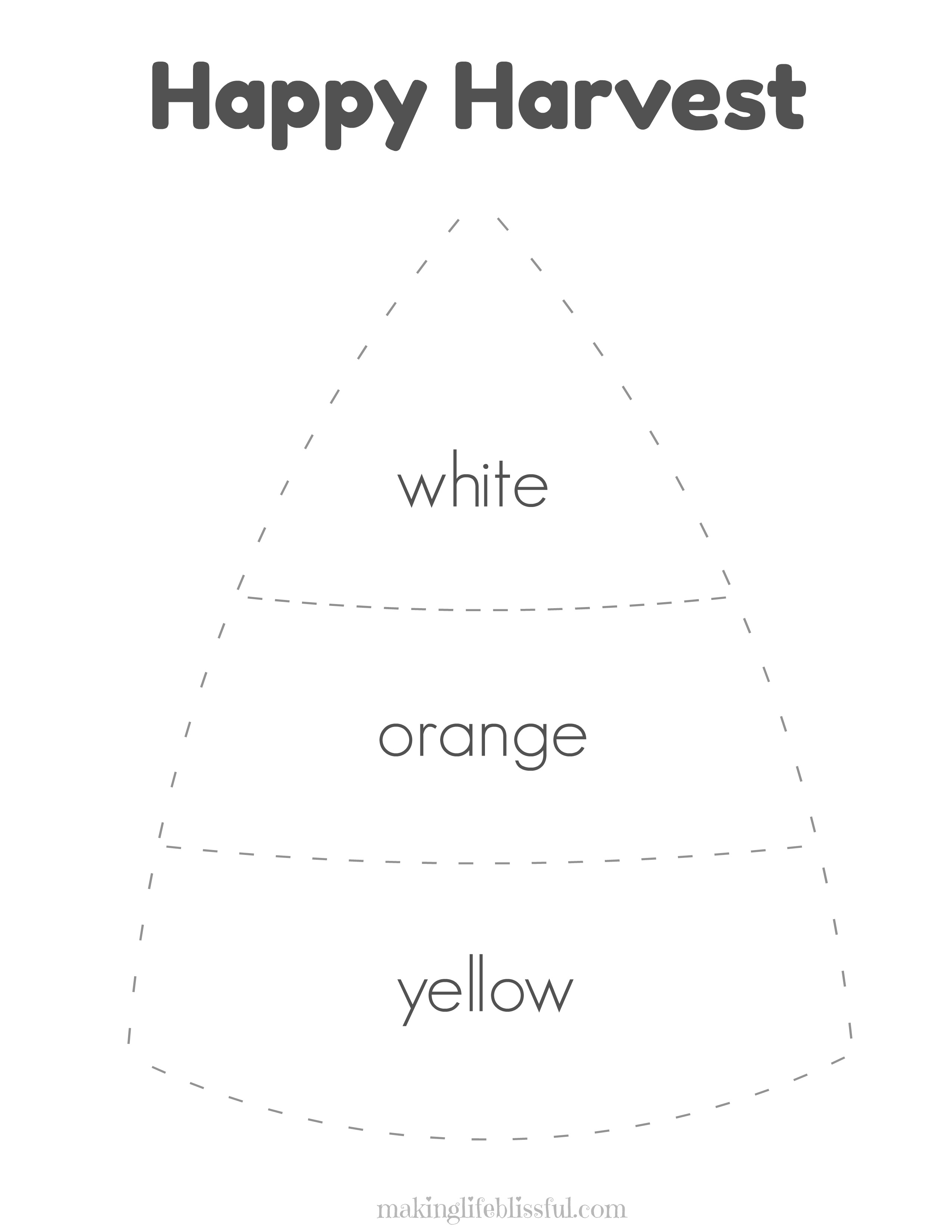 Candy Corn Craft For Kids And Printables