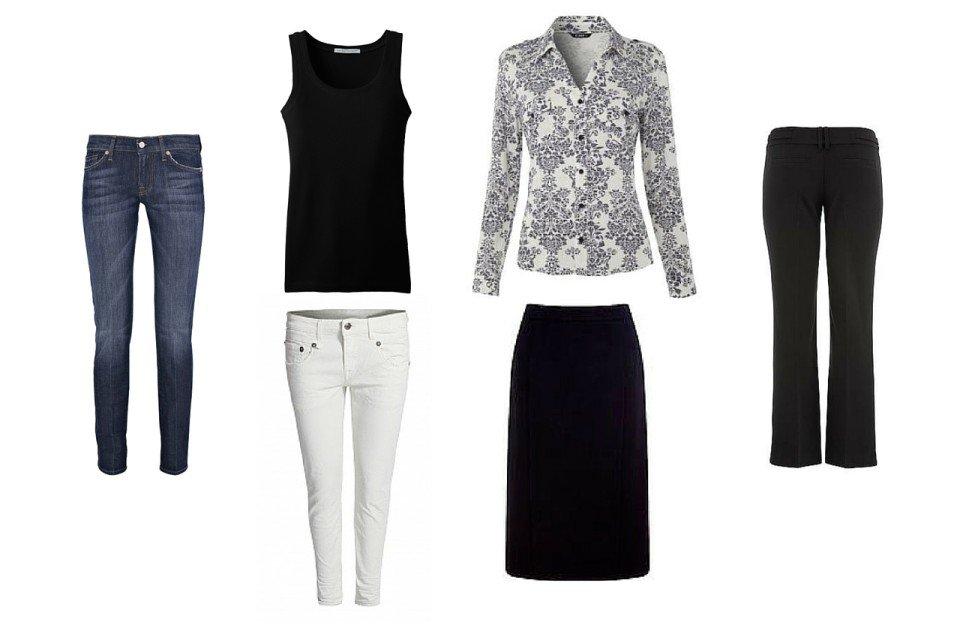 Essential 6 Piece Starter Capsule Wardrobe