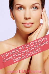 I asked top midlife bloggers for a list of the One Fabulous Beauty Product they wouldn't want to live without. They've generously shared their favorites with us. Click through to see the secrets of these gorgeous over 50 women bloggers.