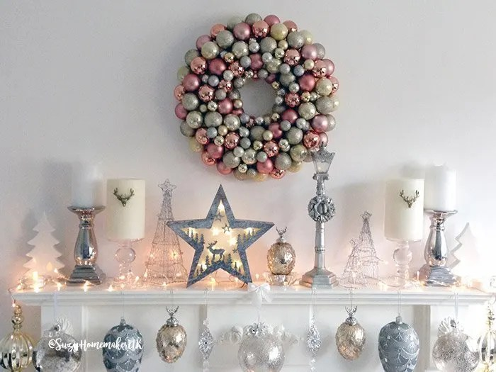 Home archives making midlife matter beautiful easy to diy bauble wreath for christmas solutioingenieria Choice Image