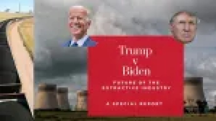 Trump v Biden and the future of the extractive industry