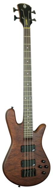 Spector Bass Legend 4 Neck-Thru Walnut Stain