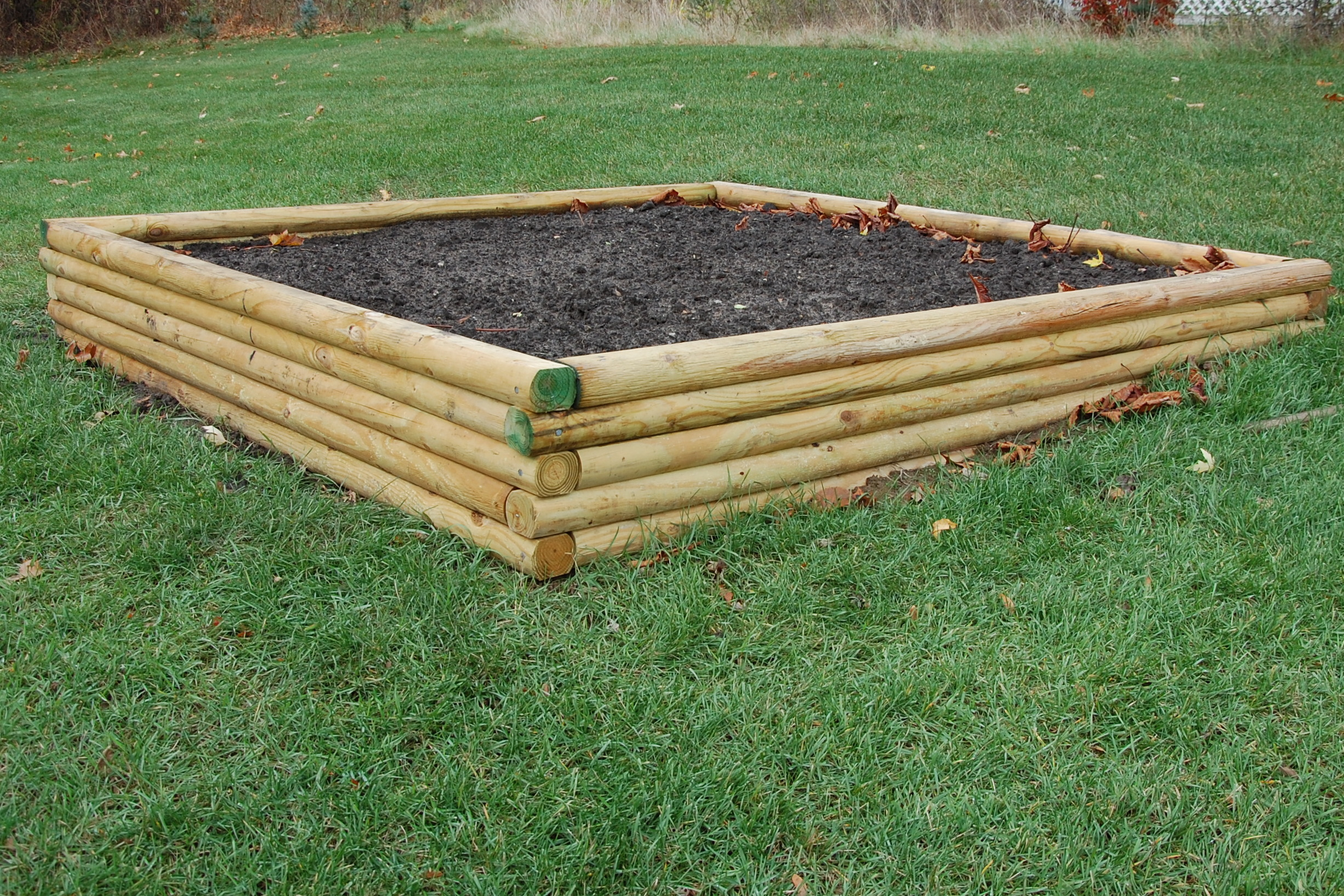 Woodwork Raised Bed Gardening Plans Hillside Designs