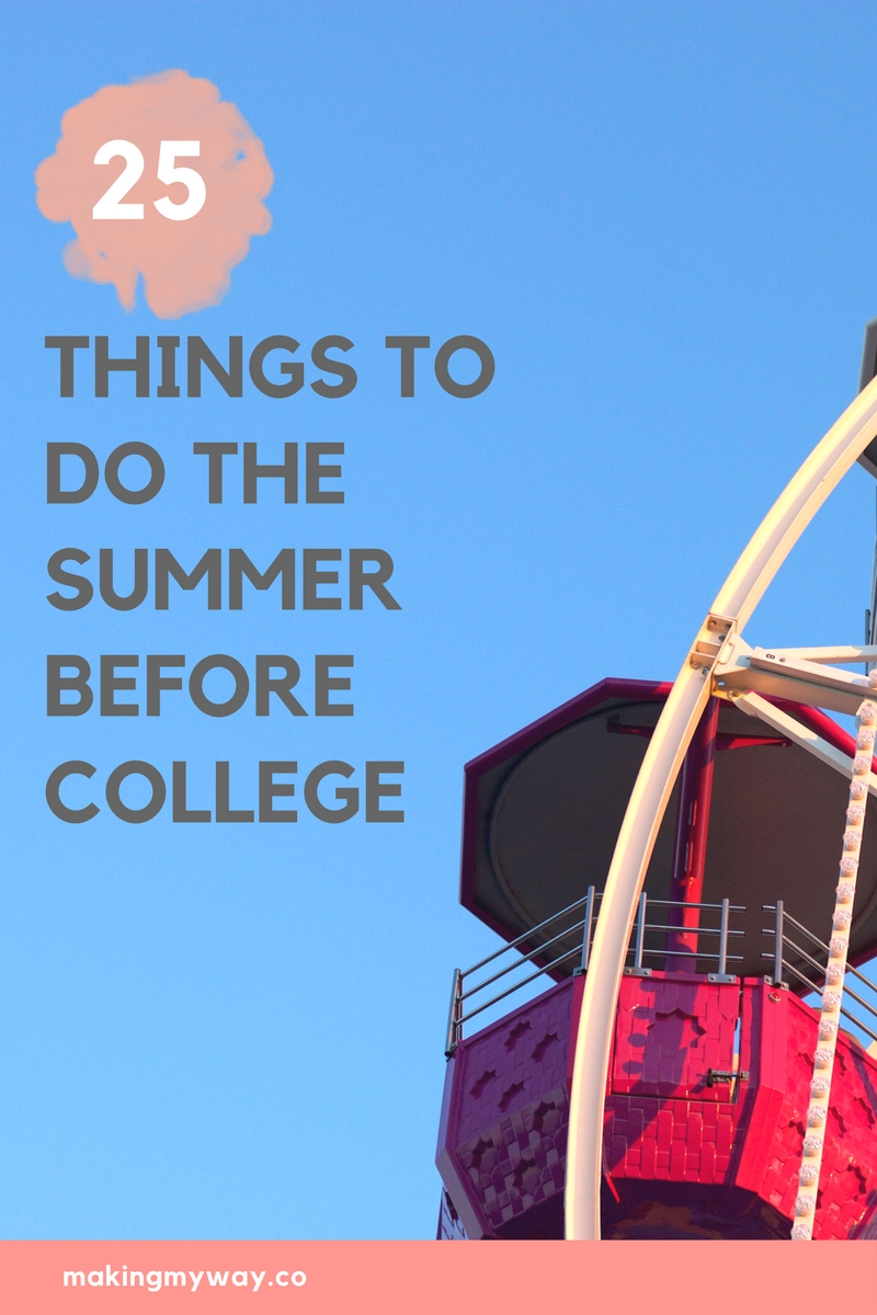 Fashion style Lifecollege College fashion summer bucket list for woman