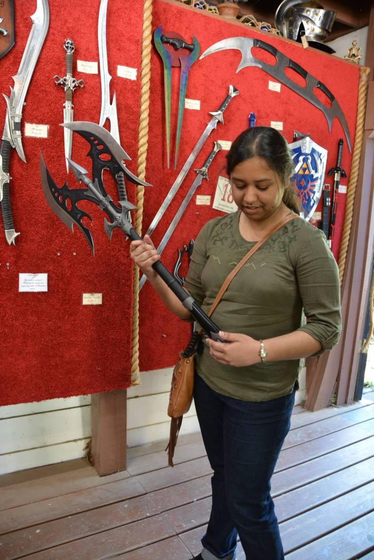 Renaissance Festival Weapons