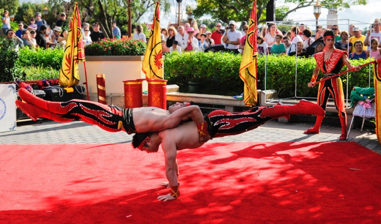 EPCOT Chinese Acrobats - 10 Must-See Shows At Walt Disney World