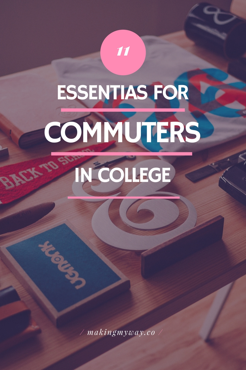 11 Things All College Commuters Need
