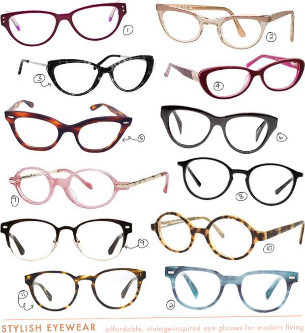 vintage prescription eye glasses cheap
