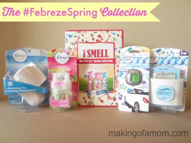 #FebrezeSpring-Collection