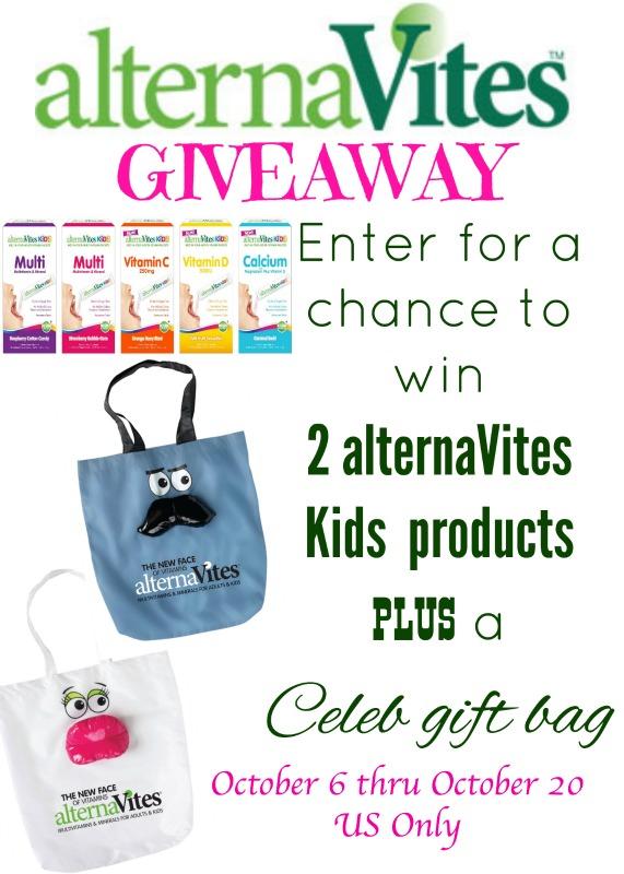 Enter to win an alternaVites Gift Pack!