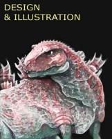 Jeff Farley's Godzilla concept.