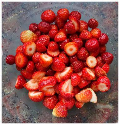Erdbeeren, pur ein Genuß!