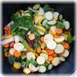 bunte Gemüsepfanne