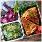 Lunchbox bunte Gemüsequiche