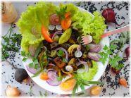 Grünes Gemüsecurry mit Belugalinsen und Räuchertofu
