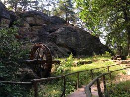 """Die Regensteinmühle im Blankenburger """"Heers"""""""