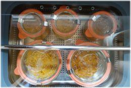 Einkochen im Dejelin-Dampfgarer