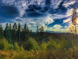 Brockenblick und spektakulärer Himmel