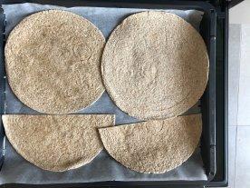 schnelle Tortilla-Wraps für die Lunchbox