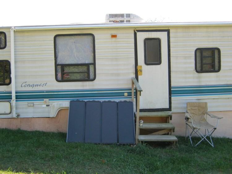 first travel trailer homestead