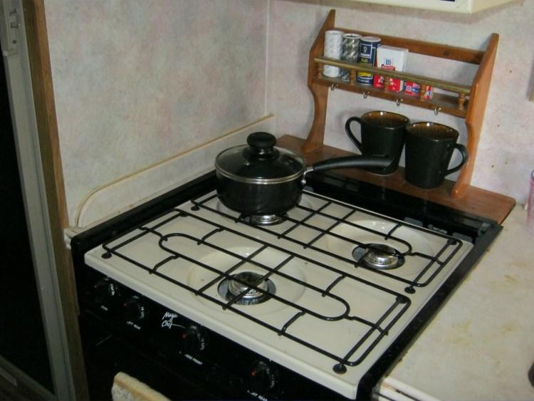 propane cook stove