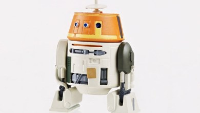 See Star Wars Rebels' Chopper Action Figure!