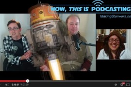 Ep22 CHop 1 - Now, This is Podcasting Videocast Part II! Episode 22 - Star Wars Rebels Discussion!