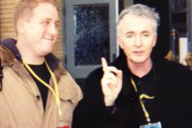 Jason with Anthony Daniels - Anthony Daniels briefly talks Star Wars: Episode VII and his new Threepio suit!