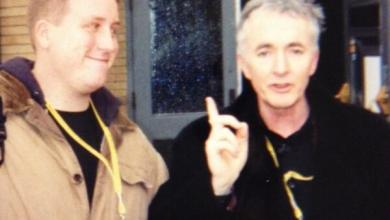 Jason with Anthony Daniels - The Time Anthony Daniels Delivered a No Smoking Personal PSA to Us!