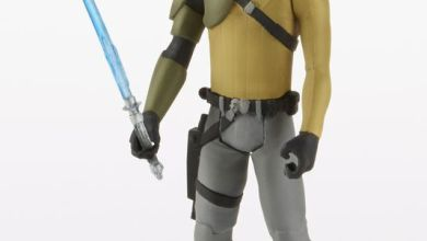 Photo of Star Wars Rebels Kanan Action Figure Revealed (plus some Lego sets too!)
