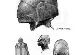 Inquisitor McQuarrie1 e1394573560616 - Star Wars Rebels' Inquisitor is based on Earliest Ralph McQuarrie Concept Art!