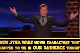 "Conan e1398926270127 1 - New ""Star Wars"" Characters just HAPPEN to be sitting in Conan's audience"