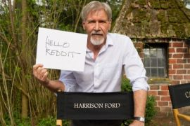 Ford - Is there a photo of Harrison Ford from the Star Wars: Episode VII set/event?