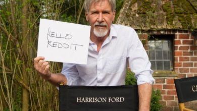 Photo of Is there a photo of Harrison Ford from the Star Wars: Episode VII set/event?