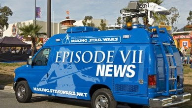Rumor: A small tidbit on Star Wars: Episode VII's new X-wing parked on a set.