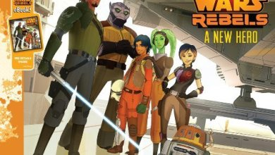 Photo of Andrews Review:  Star Wars Rebels: A New Hero by Pablo Hidalgo