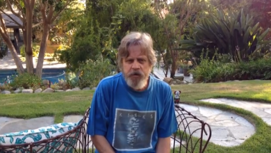 Photo of Mark Hamill's Ice Bucket Challenge