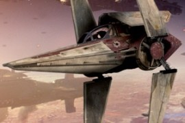Alpha 3 Nimbus - Concepts: The Rebel Ships of Star Wars: Episode VII Part 4 The V-wing Fighter!