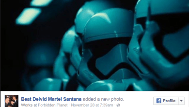 Photo of Two Stormtroopers from the Star Wars: The Force Awakens Teaser?