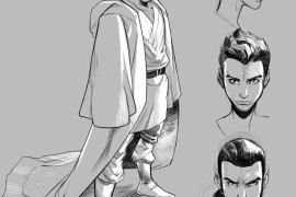 kanan sketches 881x1024 - First Look at Kanan: The Last Padawan Comic Book Series